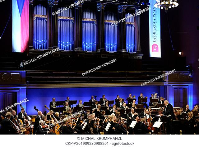 Neeme Jarvi conducts Estonian National Philharmonic Orchestra, introducing public less familiar music by his compatriot Heino Eller during the closing concert...