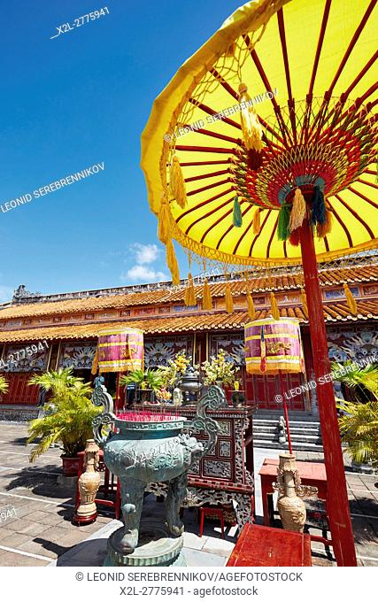 The To Mieu Temple. Imperial City (The Citadel), Hue, Vietnam