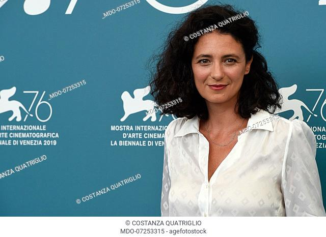 Costanza Quatriglio at the 76th Venice International Film Festival 2019. Presentation of the jury. Venice (Italy), August 28th, 2019