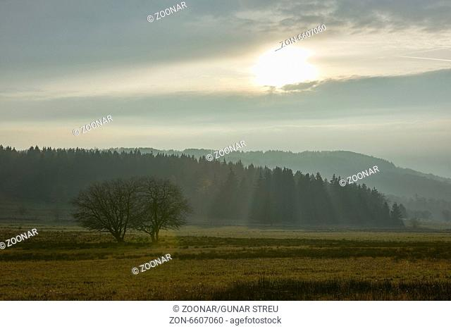 landscape, Rhoen, Germany