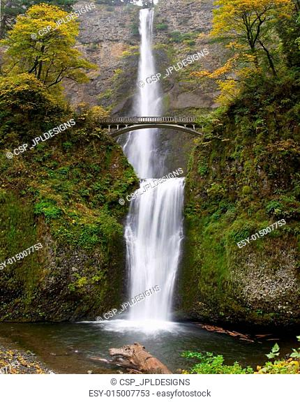 Multnomah Falls at Columbia River Gorge Oregon