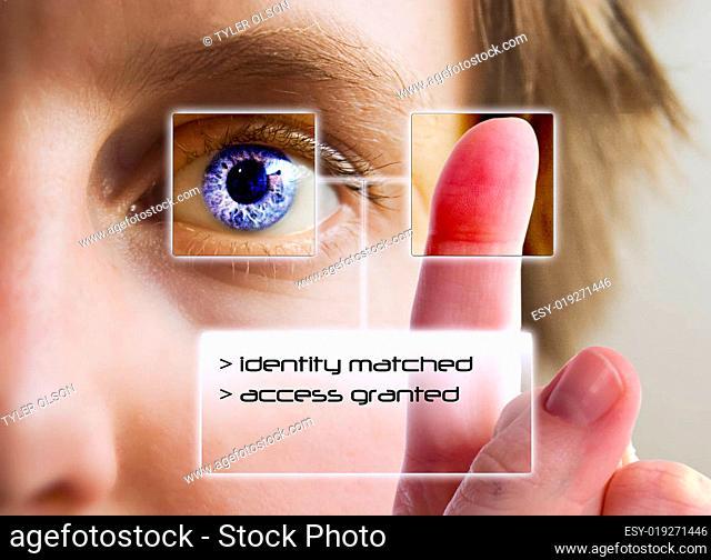 Finger Print Iris Scan