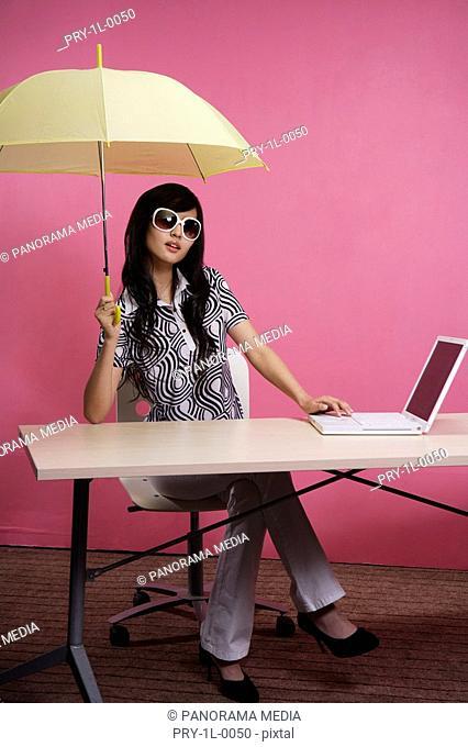 a fashionable woman