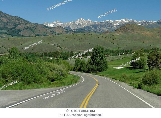 Elkhorn, ID, Idaho, Elkhorn Road