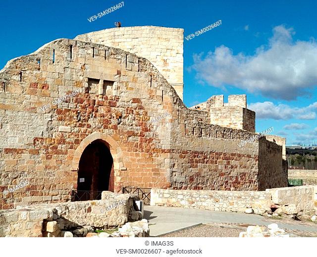 Zamora Castle, Castile Leon, Spain