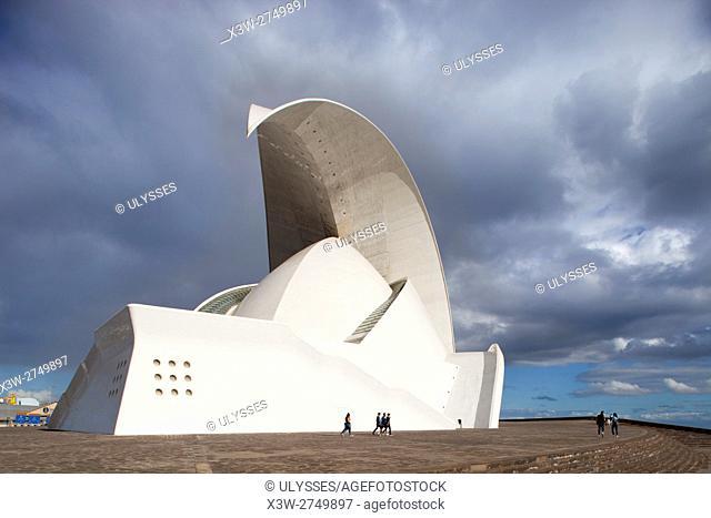 Auditorium, Santa Cruz de Tenerife, Tenerife island, Canary archipelago, Spain, Europe