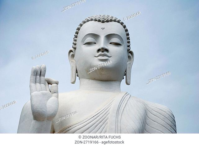Buddha Statue, Mihintale, Sri Lanka, Südasien
