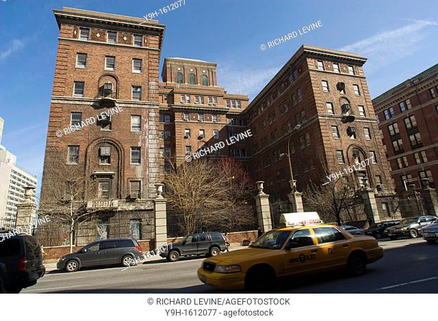 The former psychiatric ward of Bellevue Hospital on First Avenue in New York City  NYC is courting developers to turn the Italian Renaissance style building