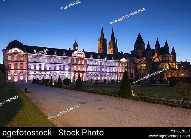 Men's abbey, Caen, Normandy, France