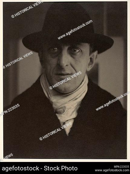 Marsden Hartley - 1916 - Alfred Stieglitz American, 1864-1946 - Artist: Alfred Stieglitz, Origin: United States, Date: 1916, Medium: Platinum print