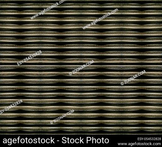 Horizontal striped geometric abstract texture pattern in brown colors