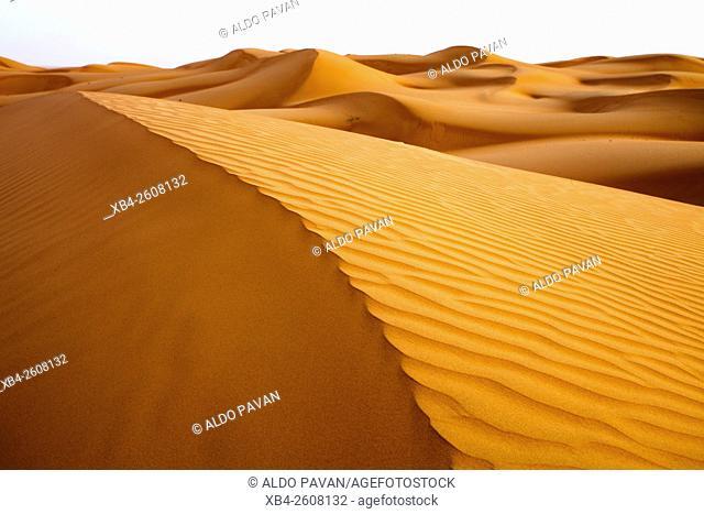Oman, Wahiba desert, sand dunes