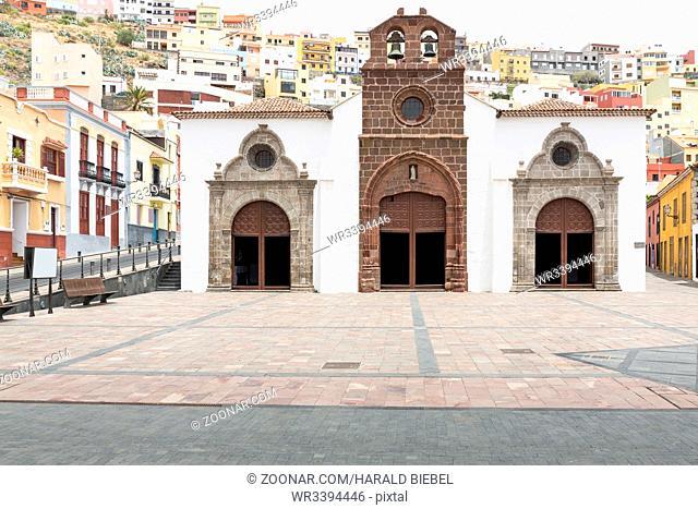 Die Kirche von San Sebastian, La Gomera