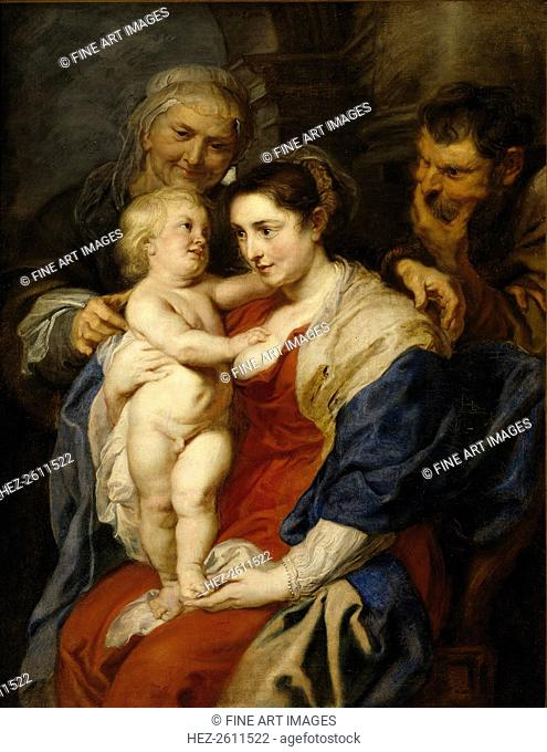 The Holy Family with Saint Anne, 1626-1630. Artist: Rubens, Pieter Paul (1577-1640)