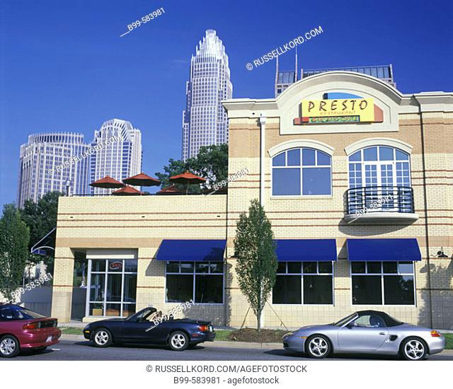 Cafes / Restaurants, South Graham Street, Downtown, Charlotte, North Carolina