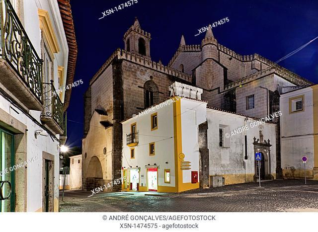 Church of S  Francisco, Evora, Portugal, Europe