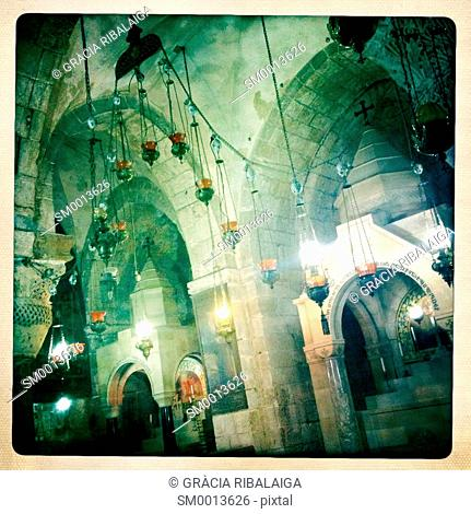 Church Of The Holy Sepulchre. The Old City of Jerusalem, Israel