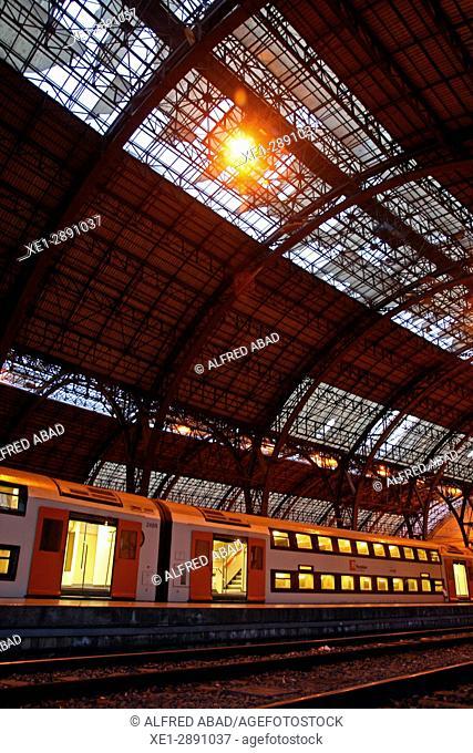 Estació de França, railway station, Barcelona, Catalonia, Spain