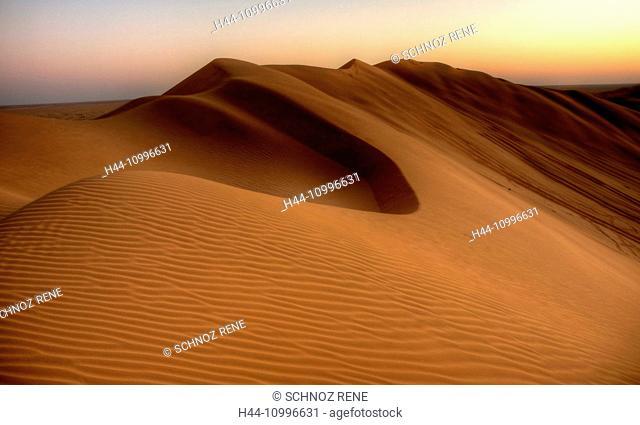 Sand dunes, Oman, Rub al Khali