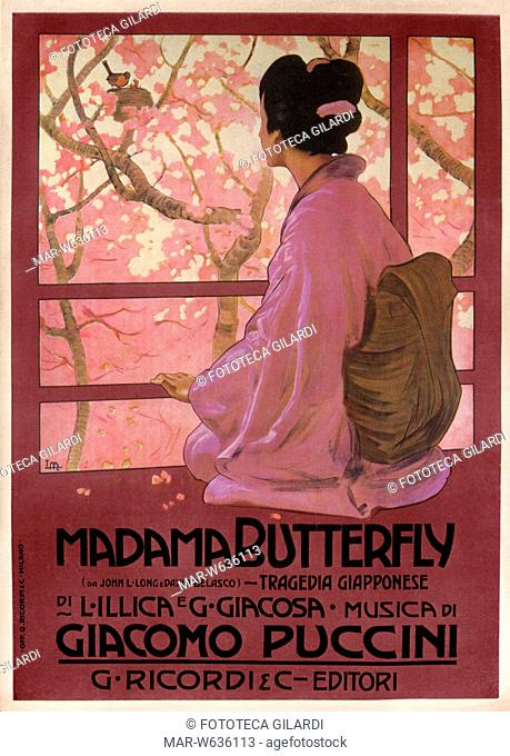 Madama butterfly giacomo puccini Stock Photos and Images