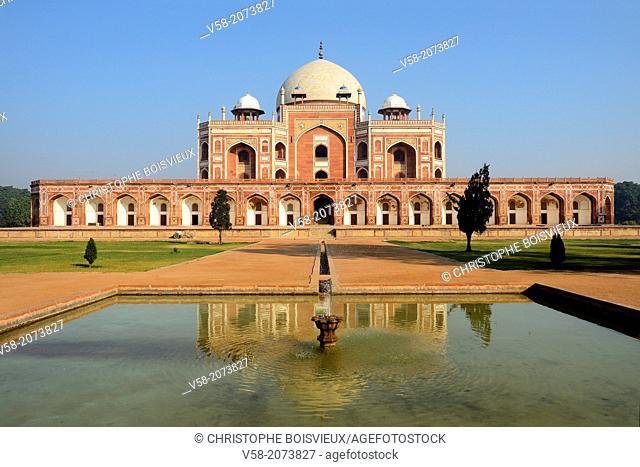 India, New Delhi, World Heritage Site, Humayun's tomb