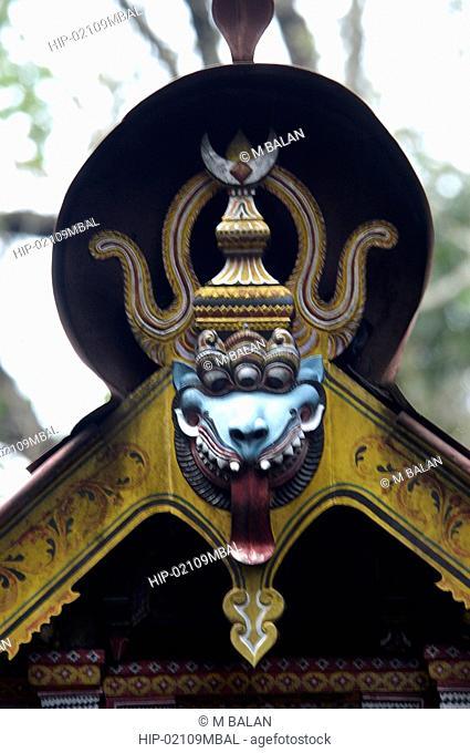 LOKANAR KAVU, THE GOD OF KALARI PRACTICIONERS OF MALABAR