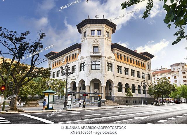 Oficina de Correos y Telégrafos. Santander, Cantabrian Sea, Cantabria, Spain, Europe