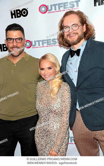 Outfest Los Angeles LGBT Film Festival at the Orpheum Theatre - Photocall Featuring: Kristin Chenoweth Where: Los Angeles, California