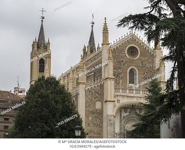 Church of San Jerónimo el Real. Madrid, Spain