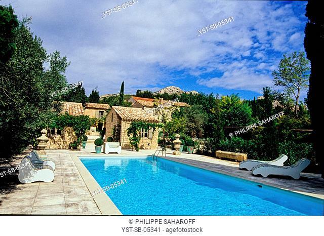 Maussanne-les-Alpilles, Provence, France