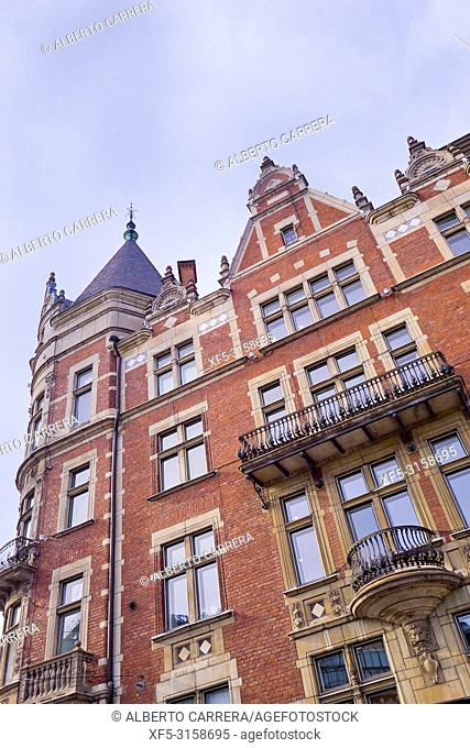 Traditional architecture, Helsinki, Finland, Europe