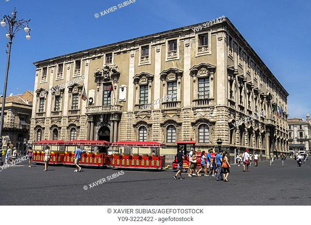Palazzo degli Elefanti, Town Hall, Catania, Sicily, Italy