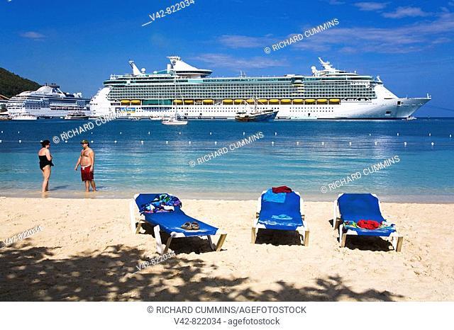 Turtle Beach, Ocho Rios, St Ann's Parish, Jamaica, Caribbean