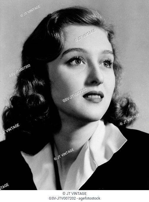 Actress Celeste Holm, Portrait, 1942