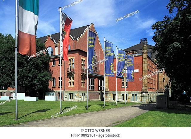 Industrial culture, museum, German, ship journey, Duisburg-Ruhrort, Rhine, Lower Rhine, Ruhr area, North Rhine-Westphalia, Germa