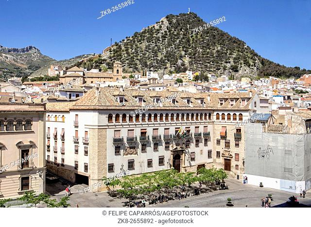 The episcopal head office of Jaen, The Episcopal Palace is constructed on a building of the XVth century reformed in the year 1980, take in Jaen, Spain