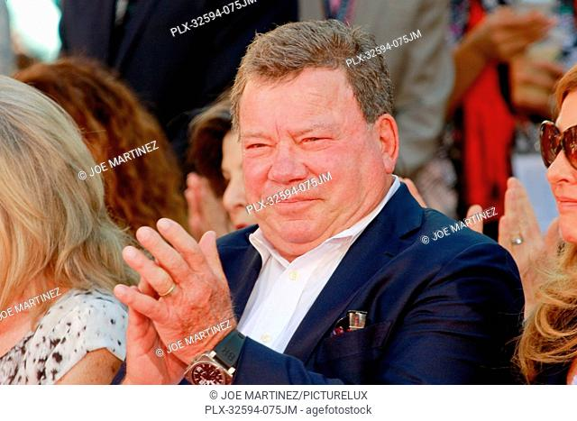 William Shatner at TCM's Hand and Footprint Ceremony honoring Christopher Plummer held at TCL Chinese Theatre Imax in Hollywood, CA, March 27, 2015