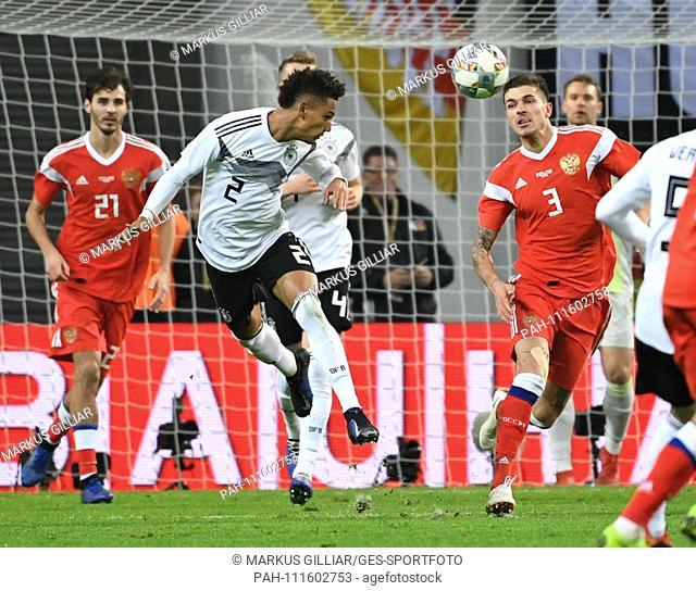 Thilo Kehrer of Germany GES / Football / Friendlies: Germany - Russia, 15.11.2018 Football / Soccer: Friendly match: Germany vs Russia, Leipzig, November 15
