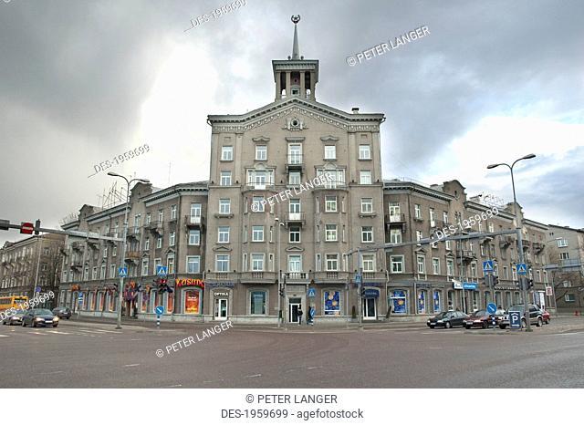 Soviet Building, Tallinn, Estonia