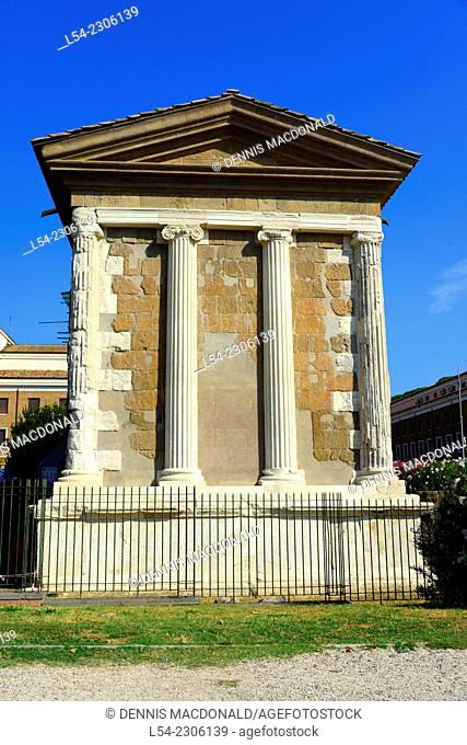 Temple Portunus Rome Italy IT EU Europe