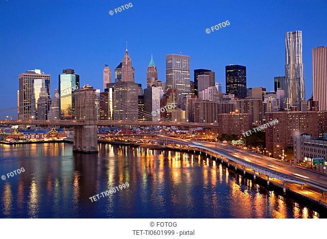 USA, New York City, Cityscape