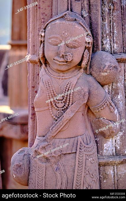 India, Gujarat, Kutch, Bhuj, necropolis of Chhatedi