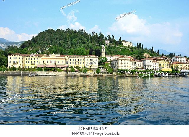 the beautiful village of Bellagio on Lake Como, in Northern Italy