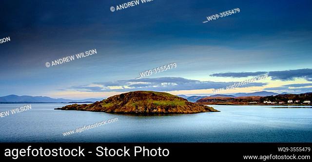 Maiden Island just off Oban, Scotland