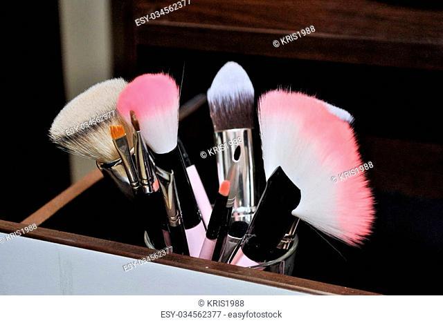 Work in a beauty salon make-up artist