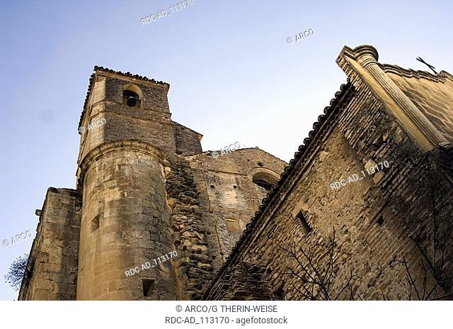Church Iglesia Nuestra Senora de la Encarnacion Setenil de las Bodegas white villages Pueblos Blancos Andalusia Spain