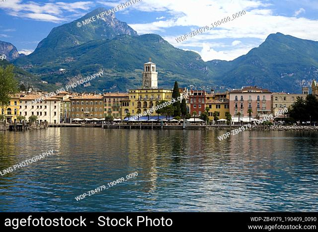 Riva del Garda on Lake Garda Trentino-Alto Adige Region Province Trento Italy