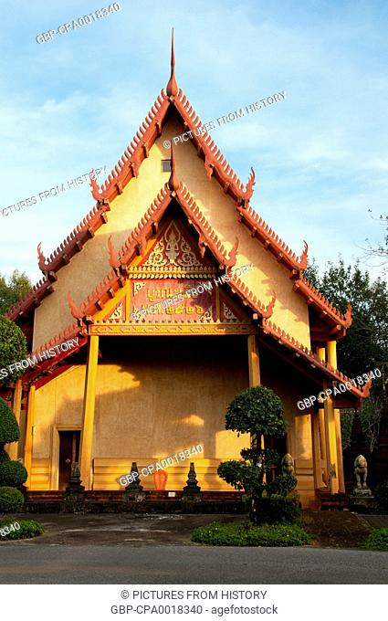 Thailand: Wat Plai Klong (also known as Wat Bupharam), Trat