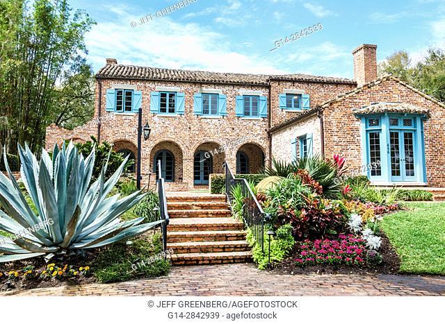 Florida, Winter Park, Orlando, Casa Feliz, restoration, mansion, house museum, Robert Bruce Barbour House, National Register of Historic Places