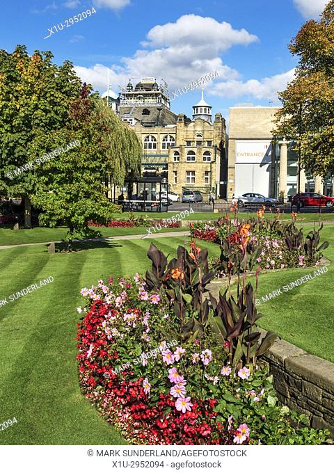 The Royal Hall from Crescent Gardens Harrogate North Yorkshire England